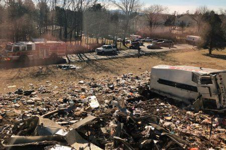 ΗΠΑ: Σύγκρουση τρένου με απορριμματοφόρο – Ένας νεκρός