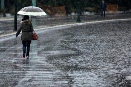 Έκτακτο δελτίο ΕΜΥ: Ισχυρές βροχές και καταιγίδες τις επόμενες ώρες