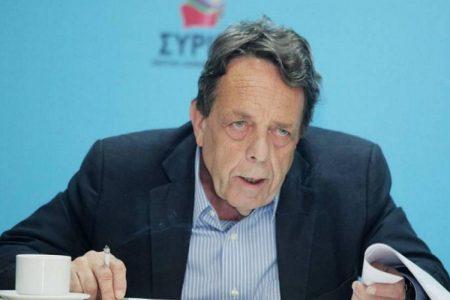 Βασίλης Μουλόπουλος: Πέθανε ο πρώην βουλευτής του ΣΥΡΙΖΑ