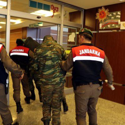 Δίκη στρατιωτικών Αδριανούπολη: Ελέγχουν και για κατασκοπεία τους δύο Έλληνες