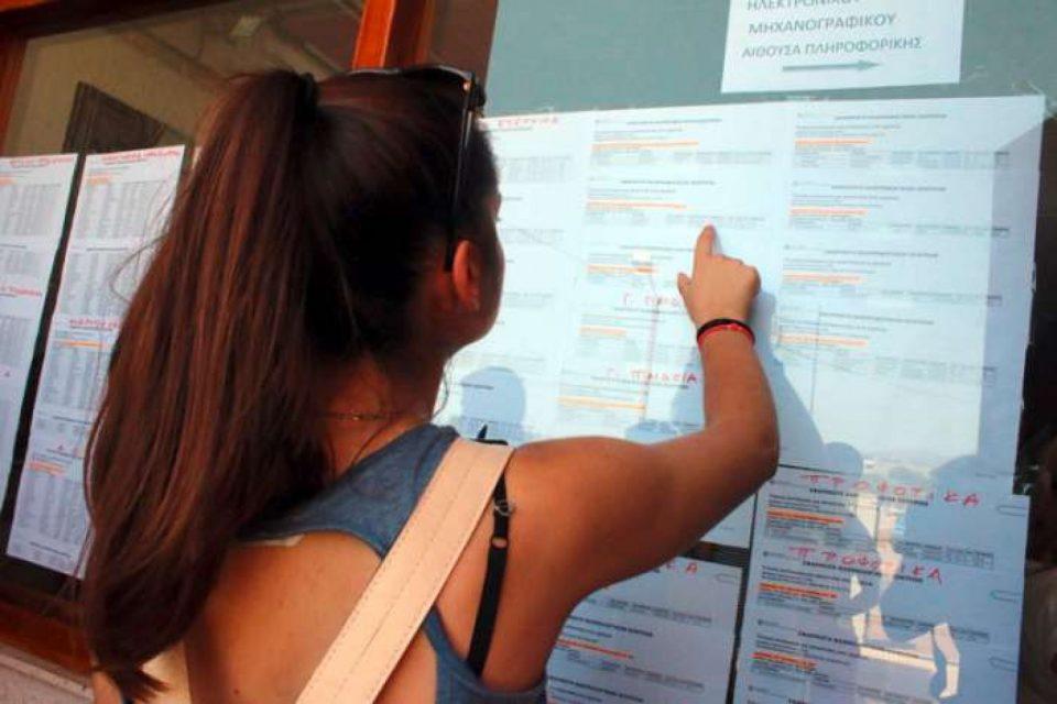 Βάσεις 2018: Εκτιμήσεις ανά επιστημονικό πεδίο και σχολή από τον Χρήστο Κάτσικα (ΠΙΝΑΚΕΣ)