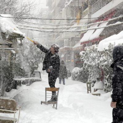 Έκτακτο δελτίο ΕΜΥ: Νέο κύμα κακοκαιρίας – Χιόνια και καταιγίδες