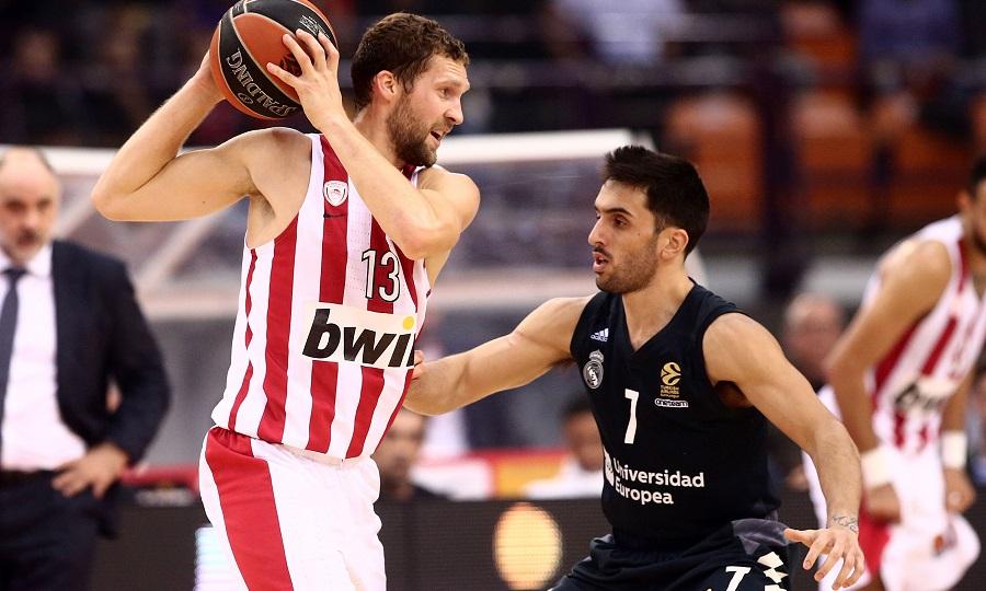 Ολυμπιακός - Ρεάλ Μαδρίτης LIVE STREAMING