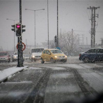 Καιρός Αθήνα – Θεσσαλονίκη: Χιόνια στο κέντρο – Δείτε ΕΔΩ πότε