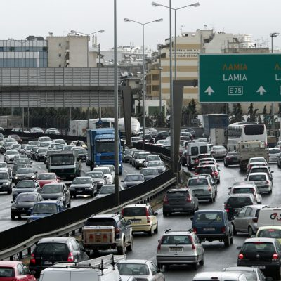 LIVE: Η κίνηση στους δρόμους ΤΩΡΑ σε Αθήνα και Θεσσαλονίκη