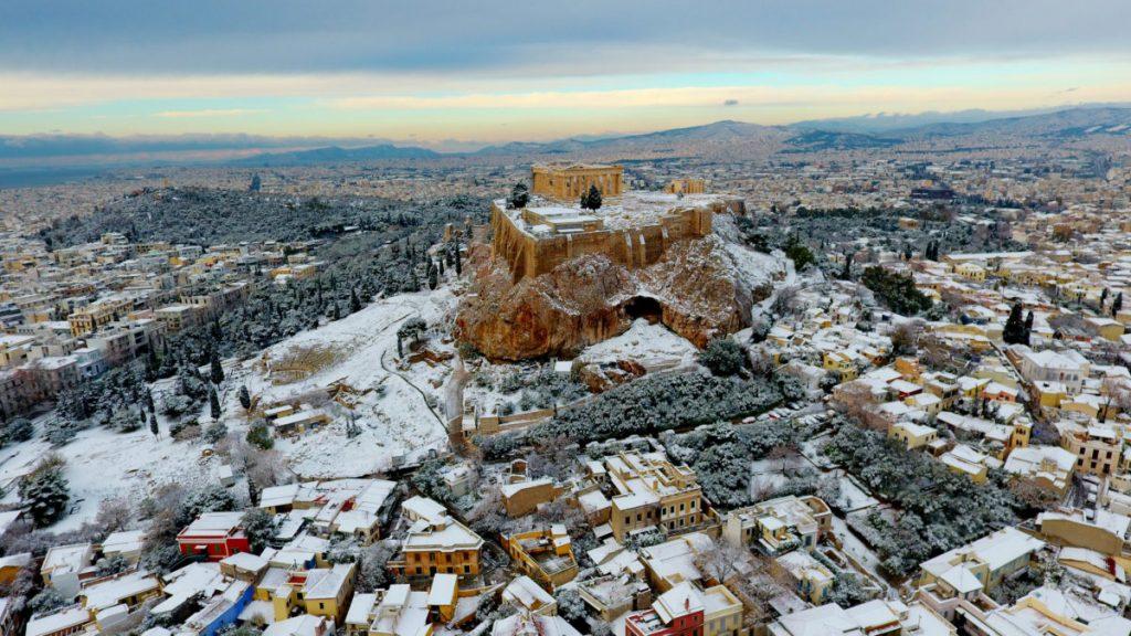 Καιρός Αθήνα ΤΩΡΑ