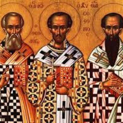 Τρεις Ιεράρχες – 30 Ιανουαρίου: Ποιοι γιορτάζουν των Τριών Ιεραρχών