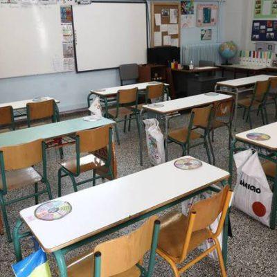 Σχολεία: Έτσι θα ανοίξουν Δημοτικά και Νηπιαγωγεία τη Δευτέρα – Τεστ, μάσκες και αερισμός