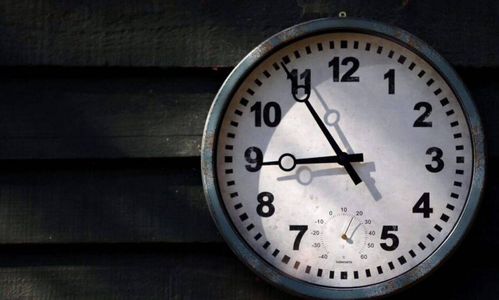Αλλαγή ώρας 2021