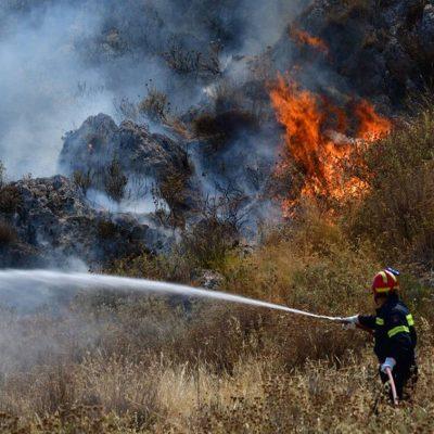 Φωτιά ΤΩΡΑ LIVE: Δείτε πού έχει ξεσπάσει πυρκαγιά αυτή την ώρα