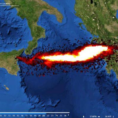 Συναγερμός: Τεράστιες ποσότητες  διοξειδίου του θείου πάνω από την Ελλάδα